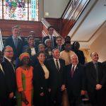 Visite du Groupe des chefs de mission diplomatique francophones.