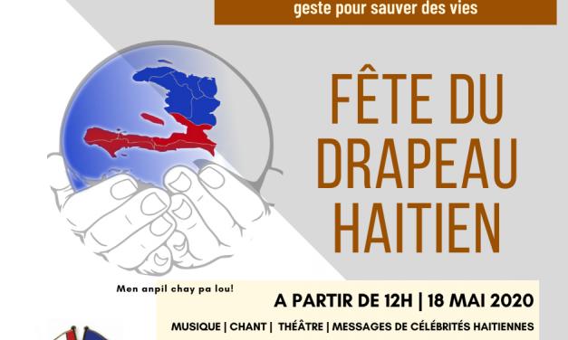 Les Haïtiens d'Ottawa et de Toronto se joignent la main pour vous inviter à célébrer notre bicolore national ce 18 mai 2020 de façon internationale.