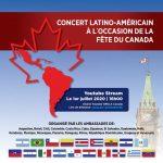 CONCERT LATINO-AMÉRICAIN À L´OCCASION DE LA FÊTE DU CANADA